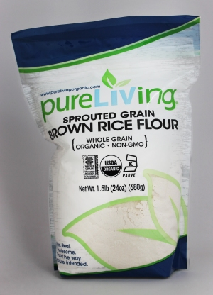 PureLiving Organic Sprouted Brown Rice Flour