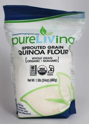 PureLiving Organic Sprouted Quinoa Flour