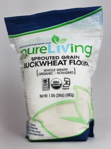 PureLiving Organic Sprouted Buckwheat Flour