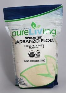 PureLiving Organic Sprouted Garbanzo Flour