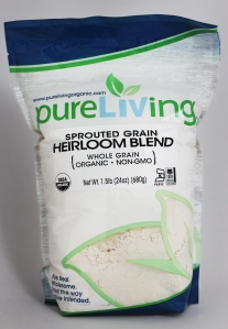PureLiving Organic Sprouted Heirloom Blend Flour