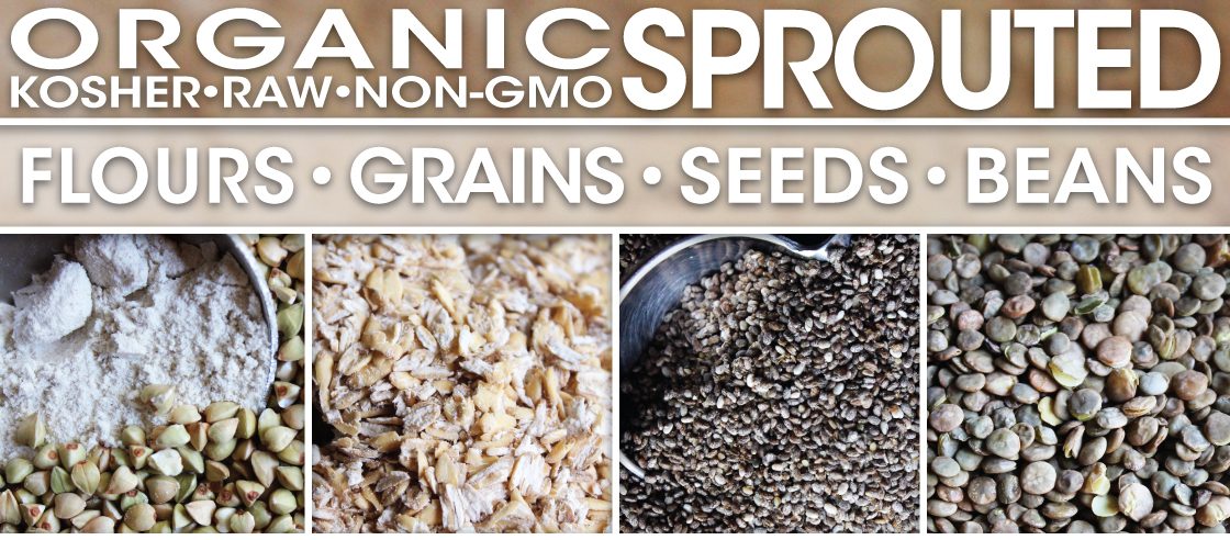 PureLiving Organic Sprouted Flours, Grains, Seeds, & Beans