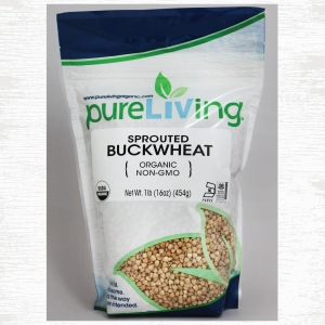 PureLiving Organic Sprouted Buckwheat // Item 403040