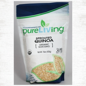 PureLiving Organic Sprouted Quinoa // Item 403050