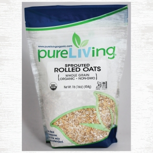 PureLiving Organic Sprouted Rolled Oats // Item 463010