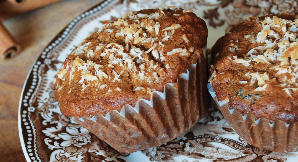 Great Start Muffins with PureLiving Sprouted Millet & Sprouted Quinoa Flours