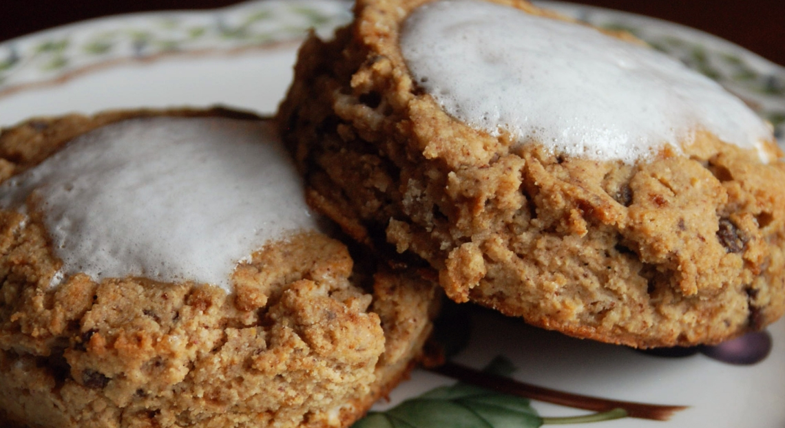S'more Scones with PureLiving Sprouted Flours