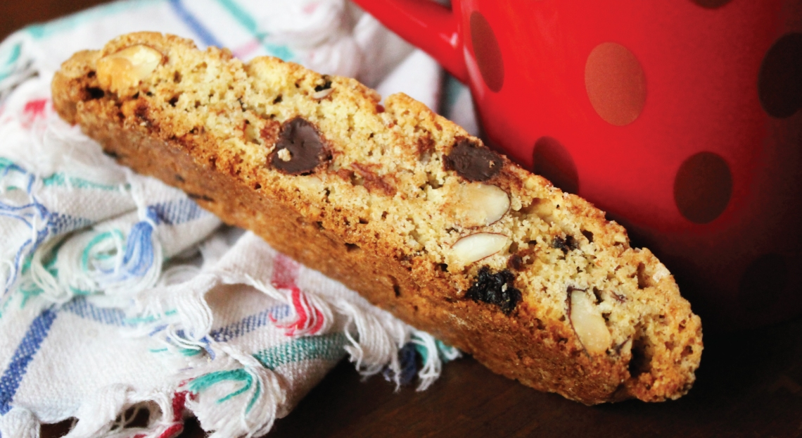Gluten Free Biscotti with PureLiving Sprouted Flours