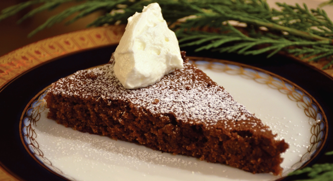 Gluten Free Gingerbread with PureLiving Sprouted Flours